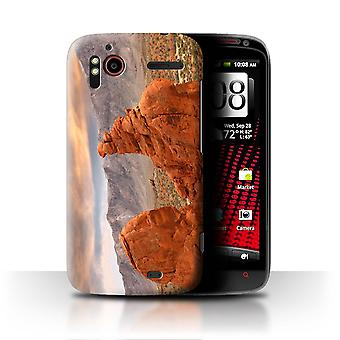 STUFF4 Case/Cover for HTC Sensation XE/Red Rock Canyon/State of Nevada