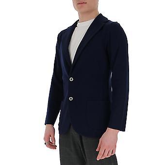 Lardini Eiljm56ei54000850 Men's Blue Cotton Blazer