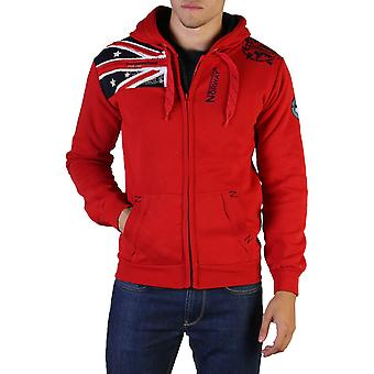 Geographical Norway Original Men Fall/Winter Sweatshirt - Red Color 36473