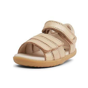 Bobux step up hampton gold sandals