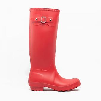 Cotswold Sandringham Ladies Wellington Boots Red
