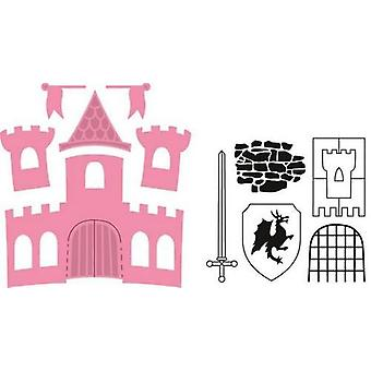 Marianne Design Collectables Cutting Dies - Castle COL1404