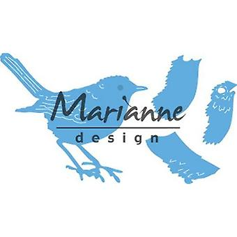 Marianne Design Creatables Snijdrijzen - Tiny&s Red Robin LR0548 9.5x13cm