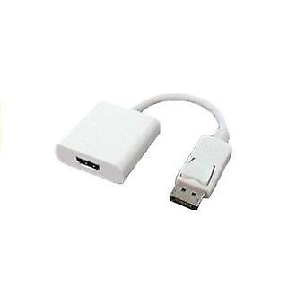 Adaptador macho a HDMI hembra Displayport