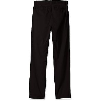 The Children's Place Big Boys' Uniform Chino Pants, Black, 16H
