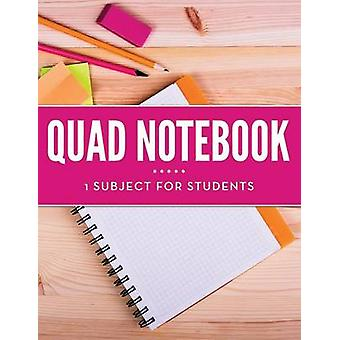 Quad Notebook  1 Subject For Students by Publishing LLC & Speedy