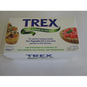 Trex Vegetable Pastry Fat