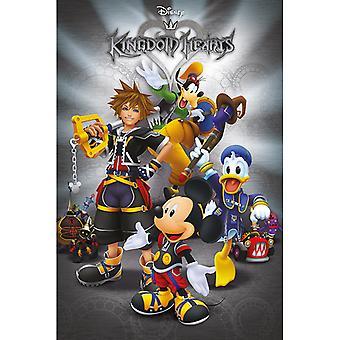 Pôster clássico de Kingdom Hearts Maxi