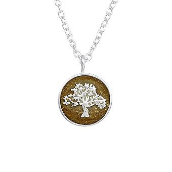 Tree Of Life - 925 Sterling Silver Plain Necklaces - W36728x