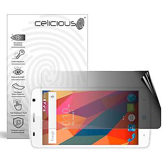 Celicious Privacy 2-Way Landscape Anti-Spy Filter Screen Protector Film Compatible with ZTE Blade L5 Plus