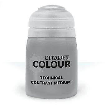 Contrast Medium (24ml) ,Citadel Paint Technical, Warhammer 40,000