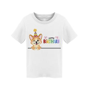 Happy Birthday: Corgi Tee Toddler's -Image by Shutterstock