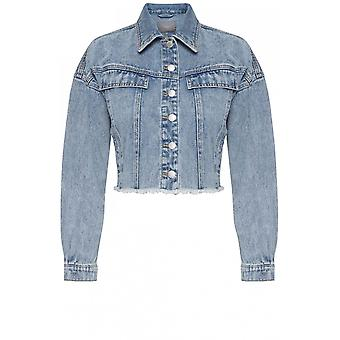 b.young Rajattu Pesty Denim Jacket