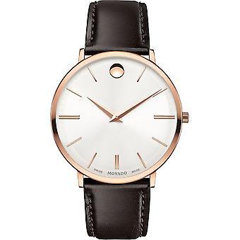 Movado - Relógio de Pulso - Homens - 0607089 - ULTRA SLIM - Relógio de Quartzo