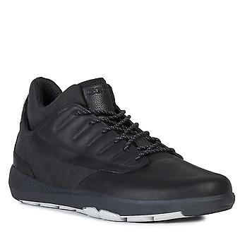 Geox u modual b abx a ankle sneakers mens black