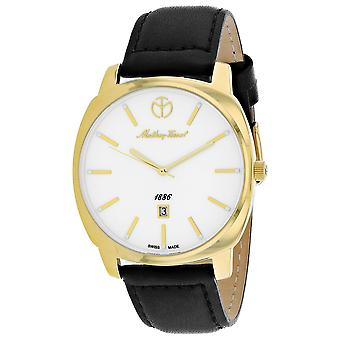 Mathey Tissot Men's Smart  White Dial Watch - H6940PIY