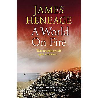 Um Mundo em Chamas por James Heneage - 9781786480200 Livro