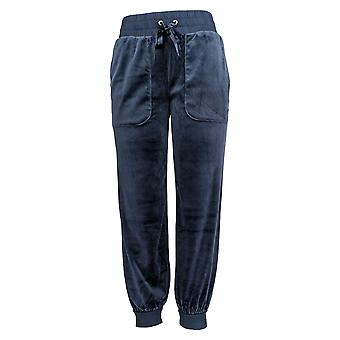 Anybody Women's Pants Velour Pull On Joggers Blue A345306