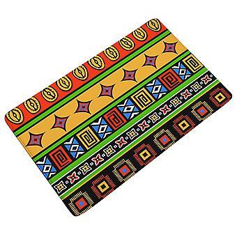 YANGFAN Flannel Thickening National Pattern Mat