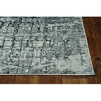 2' x 7' Ivory or Grey Polypropylene and Polyester Runner Rug