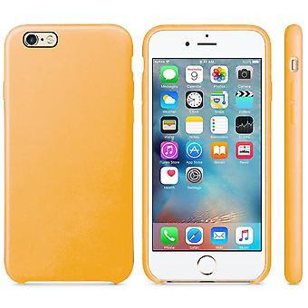 Original PU Soft Silicone Leather Slim Case Cover Apple iPhone 10 8 7 Plus 6s 5