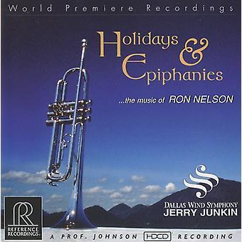 Holidays & Epiphanies - Ron Nelson: Holidays & Epiphanies [CD] USA import
