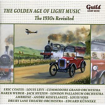 1930s Revisited - The Golden Age of Light Music: The 1930s Revisited [CD] USA import