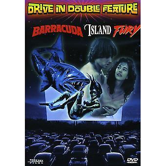 Island Fury/Barracuda [DVD] USA import