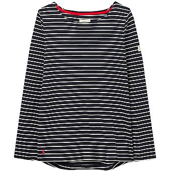 Joules Womens Harbour Relaxed Fit Cotton Long Sleeve Top