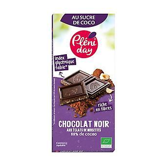 Dark Chocolate with Hazelnut Chips 100 g