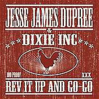 Jesse James Dupree - Rev It Up & Go-Go [CD] USA import