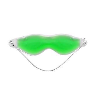 Maschera per gli occhi / Maschera per dormire - Gel (Verde)