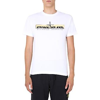 Stone Island 73152ns83v0001 Men's White Cotton T-shirt