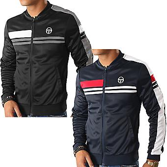 Sergio Tacchini Mens Daxton Casual Contrast Zip Up Tracksuit Track Top Jacket