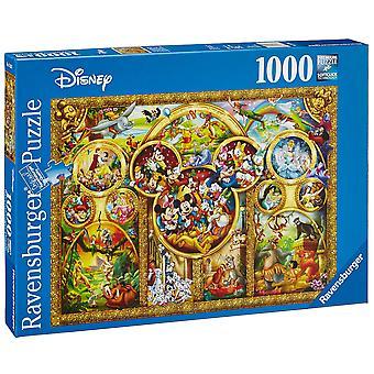 Ravensburger 1000 stykke Puzzle i beste Disney-temaer
