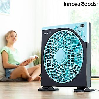Caja ventiladora de piso InnovaGoods 30 cm
