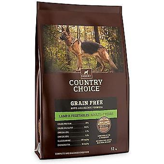 Gelert Country Choice Getreide Frei Lamm & Gemüse - 2kg