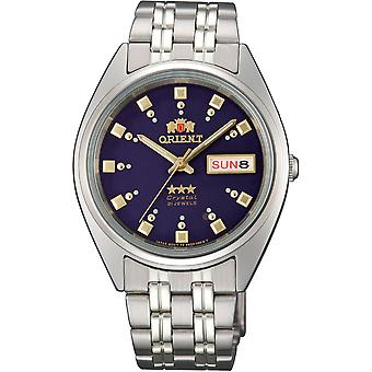 Orient 3 Star Watch FAB00009D9 - Stainless Steel Unisex Automatic Analogue