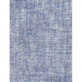 BUTTONED أسفل الرجال & ق الكلاسيكية تناسب انتشار طوق اللباس عارضة قميص, الأزرق شامبر ...