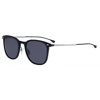 Okulary przeciwsłoneczne Mężczyźni 0974/Spjp/IR Męskie 58 mm niebieski/szary