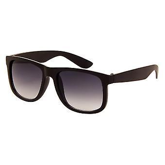 Sonnenbrille Unisex    matt schwarz mit grauer Linse (AZ-140)