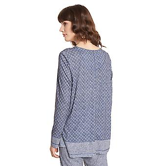 Rösch Pure 1203561-16544 Femmes-apos;s Tweed Check Pyjama Top