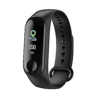 M3 Smart Band Fitness Tracker Bracelet Heart Rate Monitor Watches Waterproof Sport Wristband For Unisex
