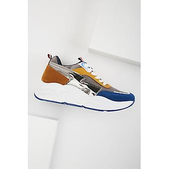 Chunky Colour Block Contrast Trainers