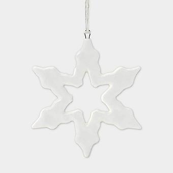 Oosten van India porselein hanger overzicht Snowflake kerstboom decoratie