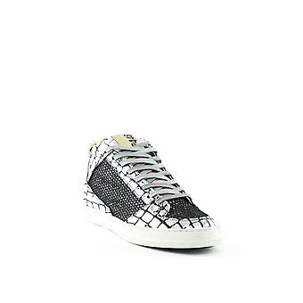 P448 | Queens Glitter Mid-Top Sneakers