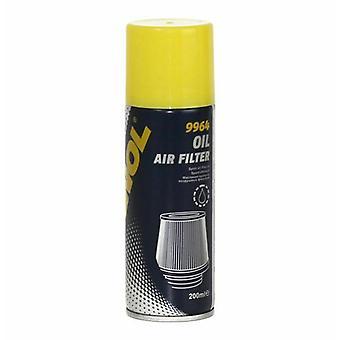 Huile de filtre à air Mannol 200ml spécialement développée pour les filtres à air sport