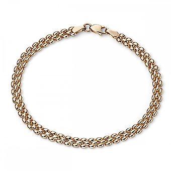 Элементы Золото 9CT Желтое золото Браслет GB426