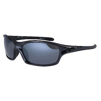 يستقطب الكتلة دايتونا النظارات الشمسية-أسود لماع