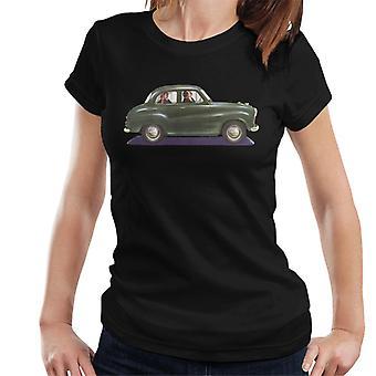 Austin A35 Verde British Motor Heritage Mujer's Camiseta